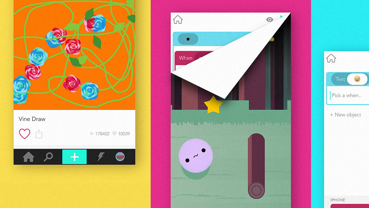 The Clever UX Behind Hopscotch's Programming iPhone App For Kids