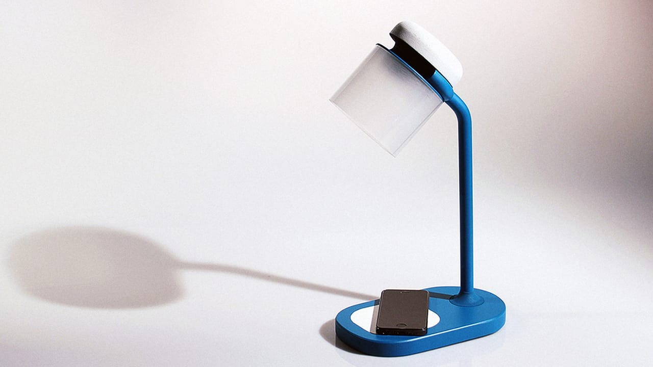 the only way to turn on this work lamp turn off your phone. Black Bedroom Furniture Sets. Home Design Ideas