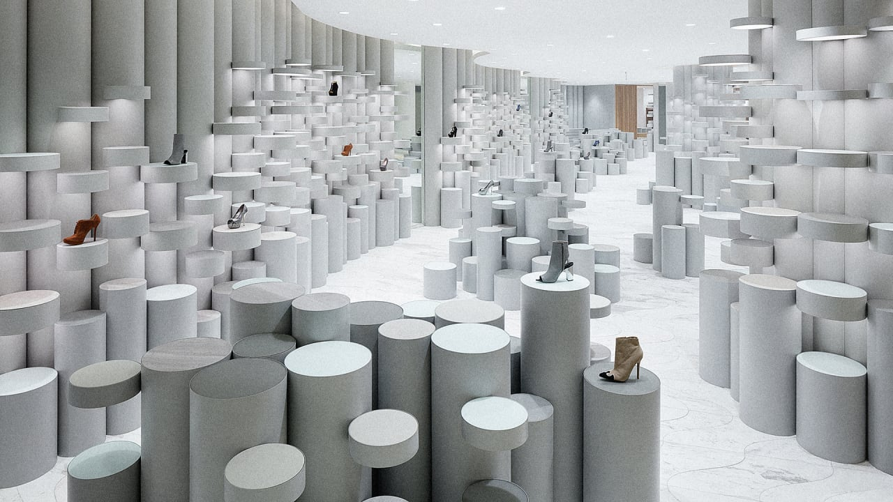 Nendo has transformed shopping space in Bangkok into Lifestyle Labs 77