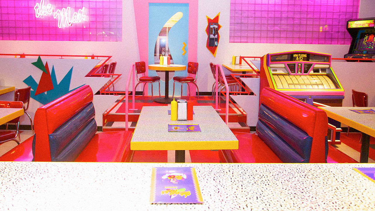 At The Saved By The Bell Diner Nostalgia Is Served To The Max