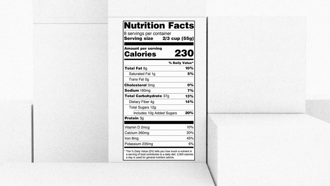 the plodding 3 year process to redesign the fda s nutrition label