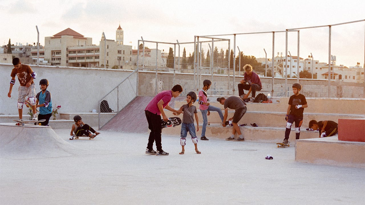 In The West Bank, Skate Parks Are A Form Of Diplomacy