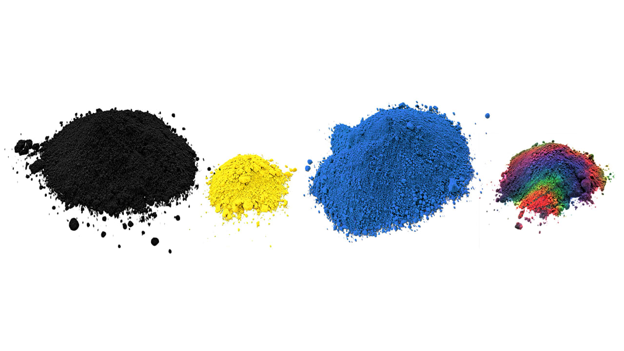 how scientists invented a new blue and other colors created in a lab