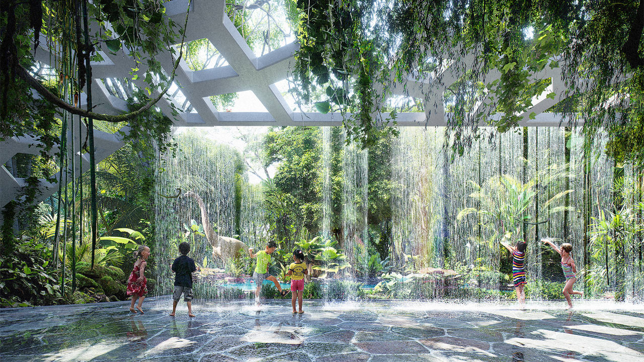 The World's Youngest Rainforest Is Growing In Dubai