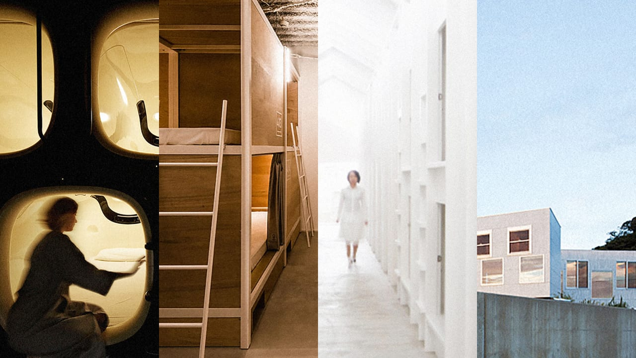 Lessons In Space-Saving Design From 4 Tiny Japanese Hostels