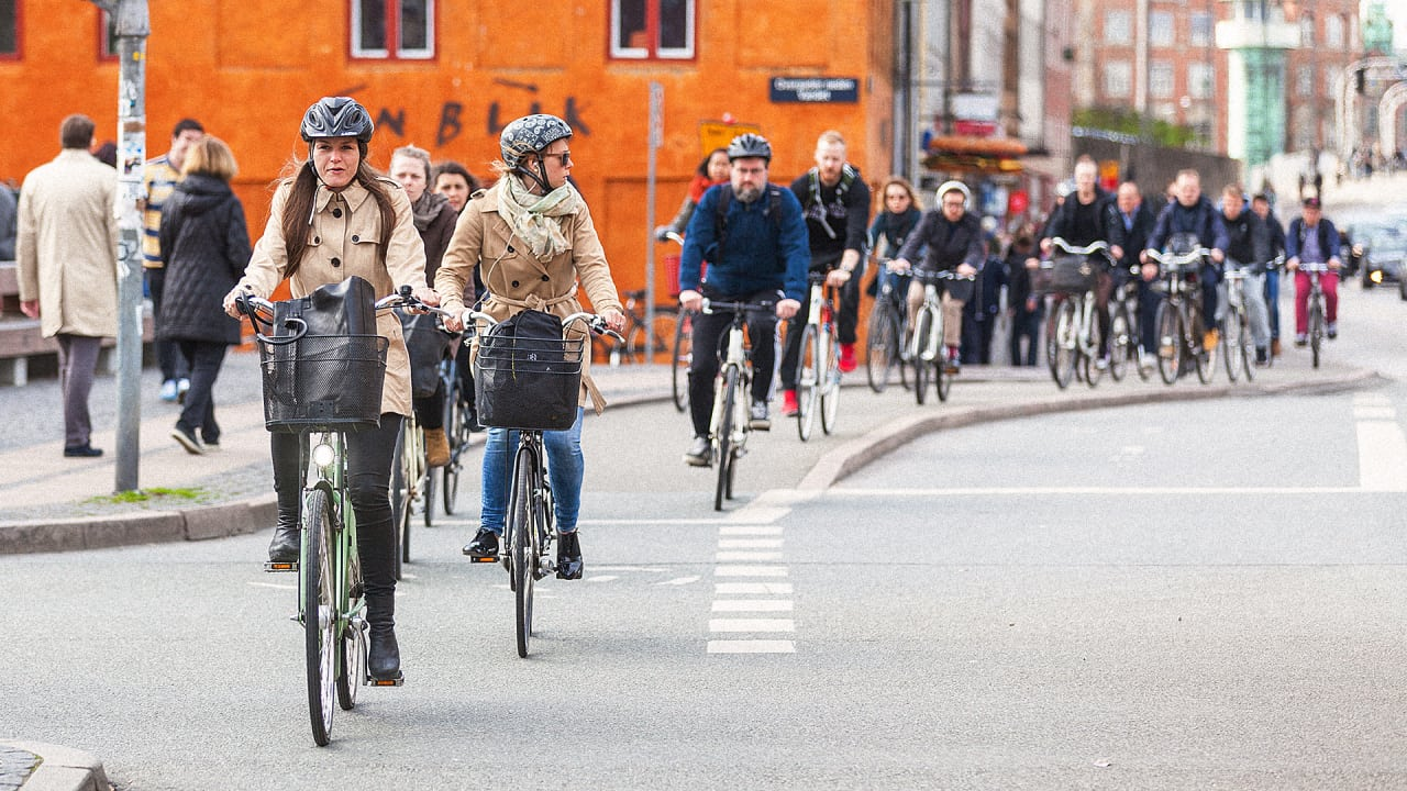 Copenhagen Now Has More Bike Use Than Car Use