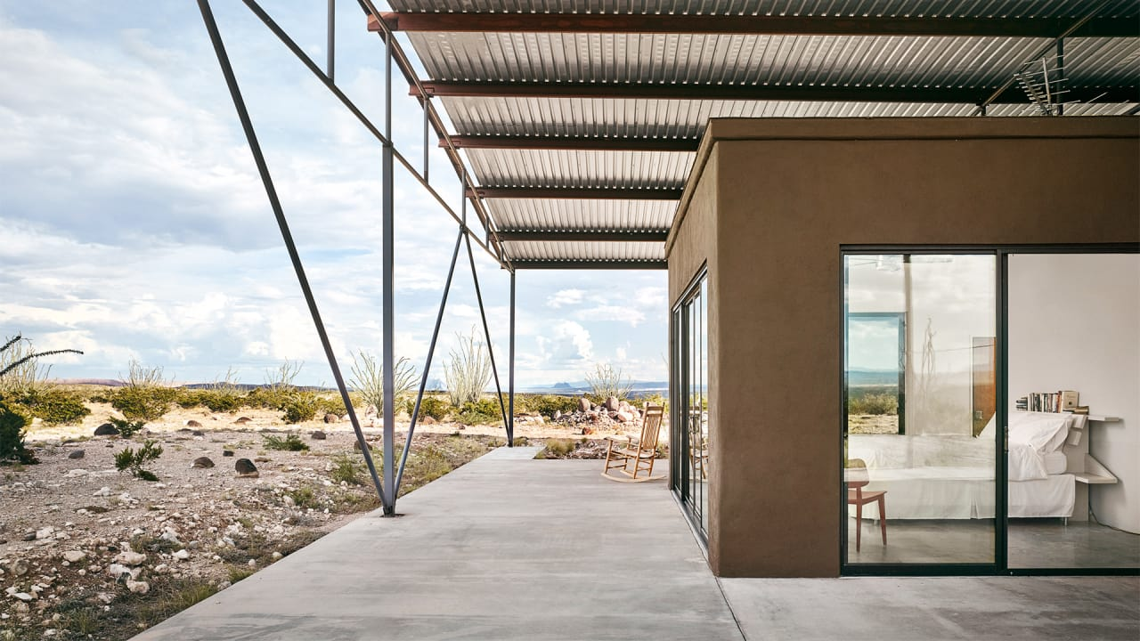 Tour The Modern Architecture Of Marfa West Texas S Artist