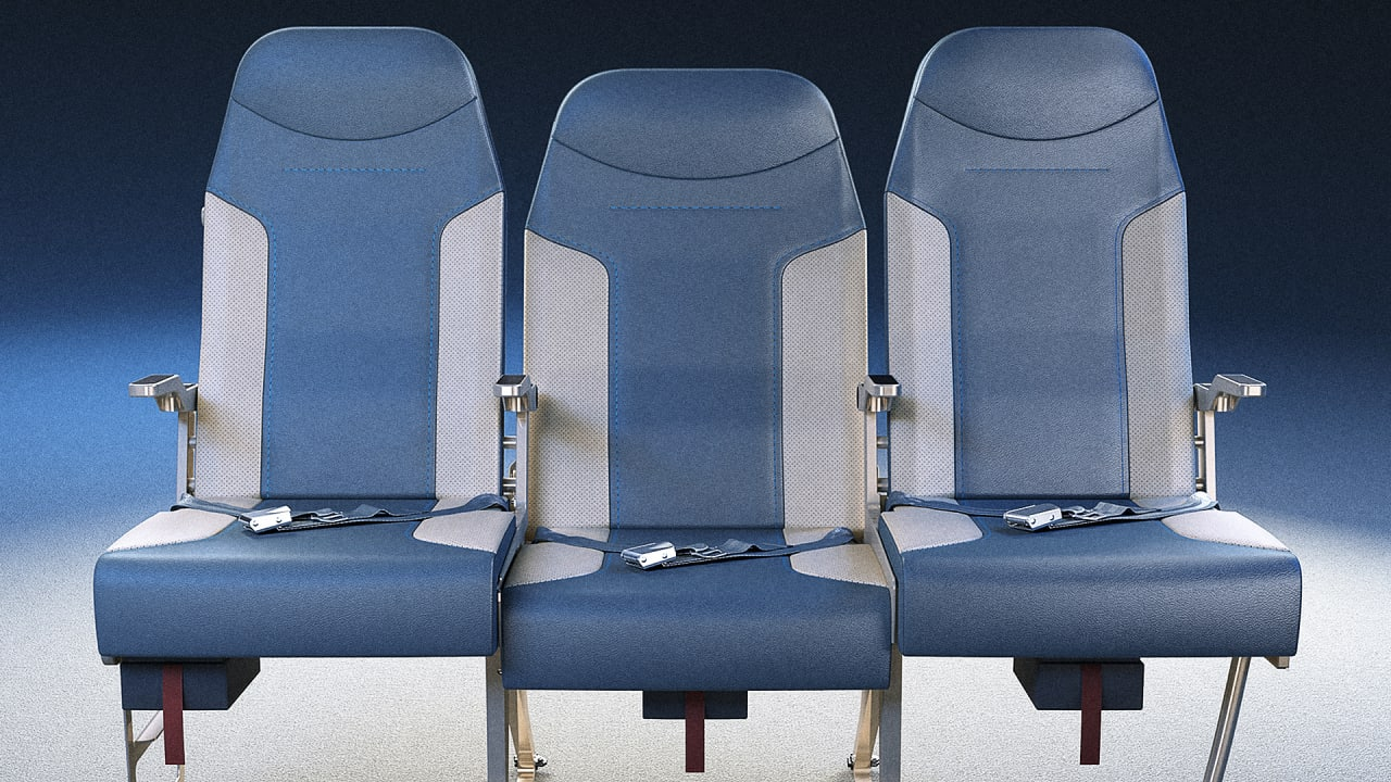 This Redesigned Airplane Row Will Make You Want The Middle Seat