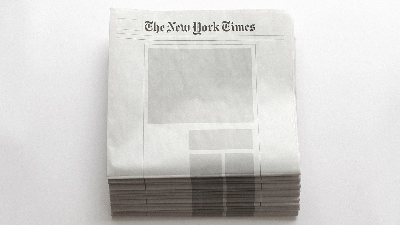 Your Moment Of Zen The Front Pages Major Newspapers With No News