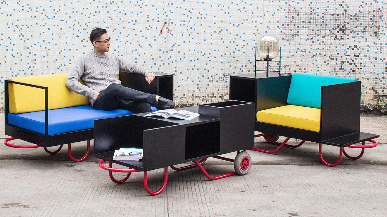 Move Over Ikea This Ultra Portable Furniture Adapts To Any Apartment