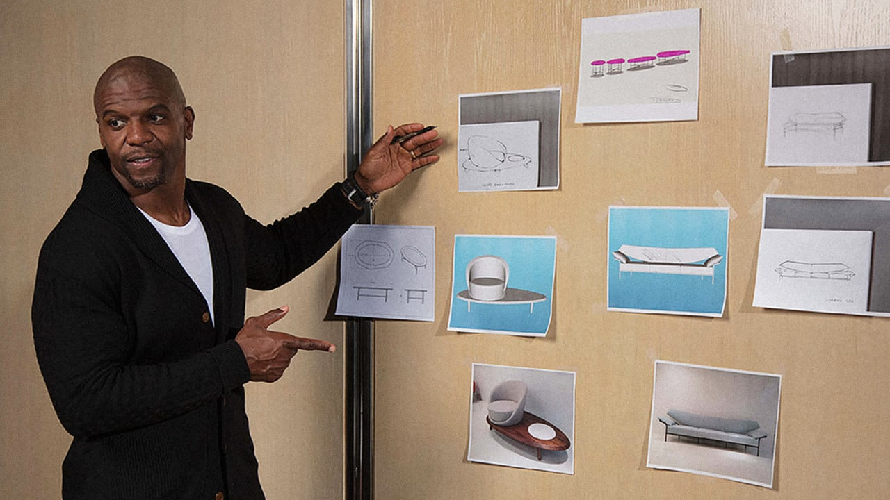 Terry Crews S Next Act Designing Chairs