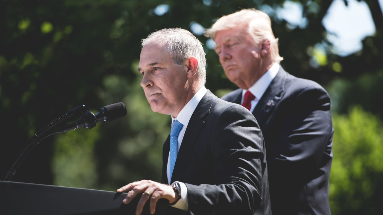 Conservative Group Led By EPA Chief Pruitt Received Dark ...