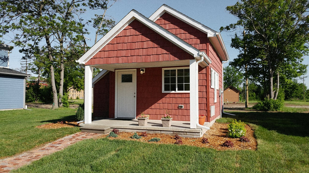 These tiny houses help minimum wage workers become homeowners for Pictures for house