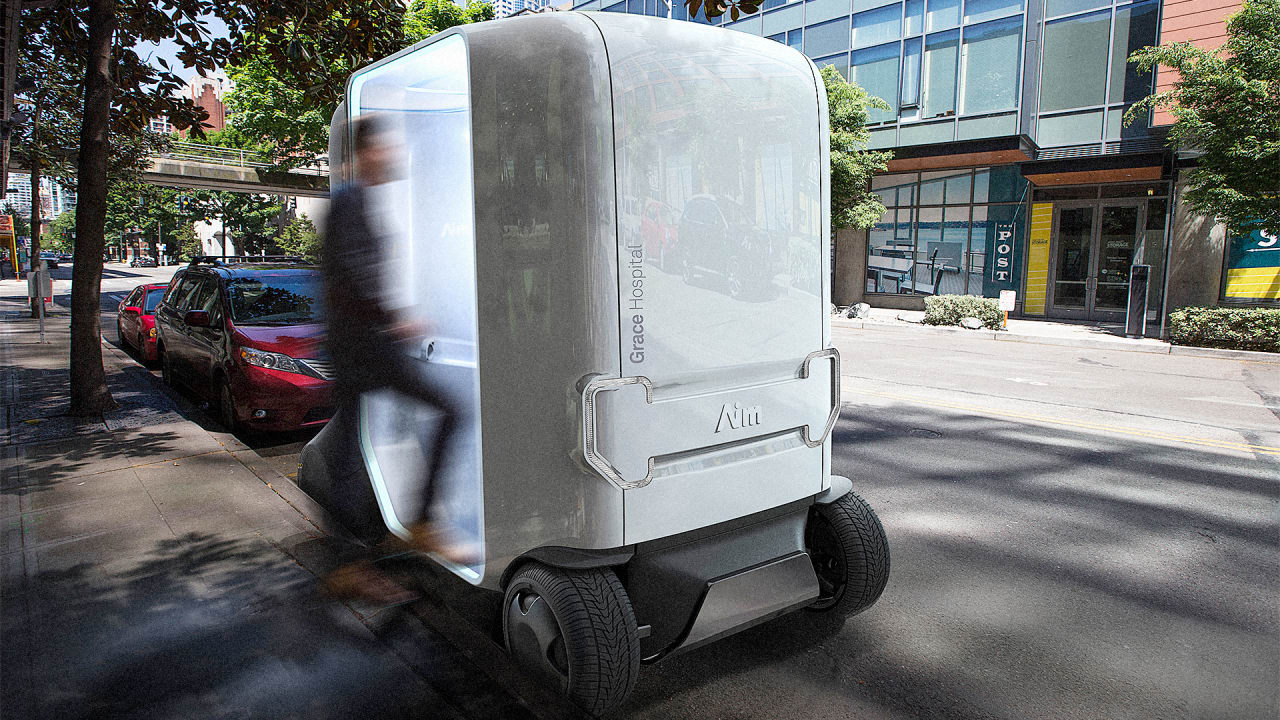 Who Needs A Hospital, When This Self-Driving Doctor Comes To You?