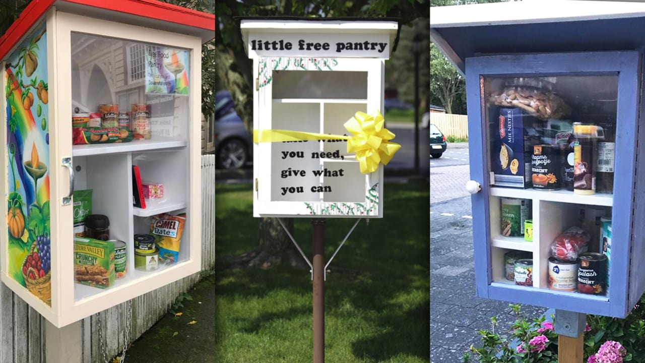 What Little Free Pantries Say About Hunger In America