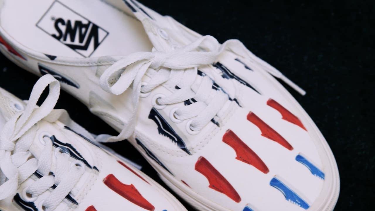 1a5b121e227 Watch How Vans Can Now Put Any Custom Design On Your Shoes In Under 15