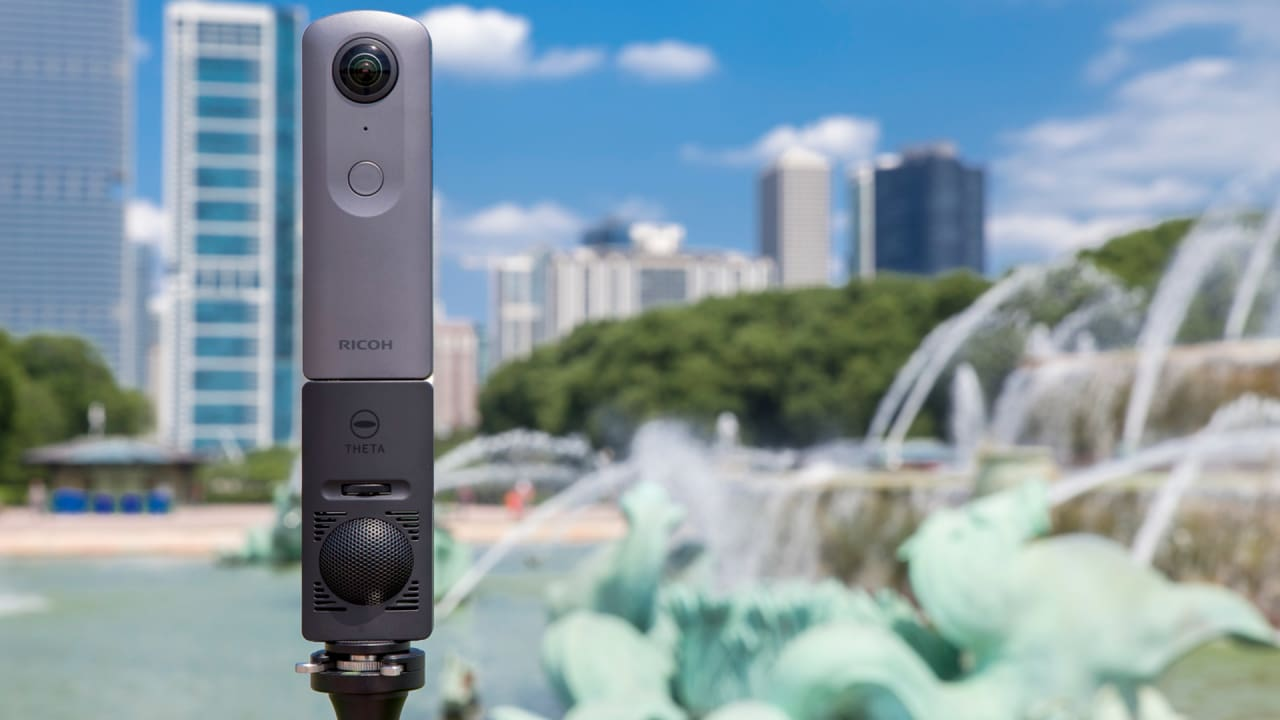 With the new Theta V, Ricoh's 360-degree camera goes pro