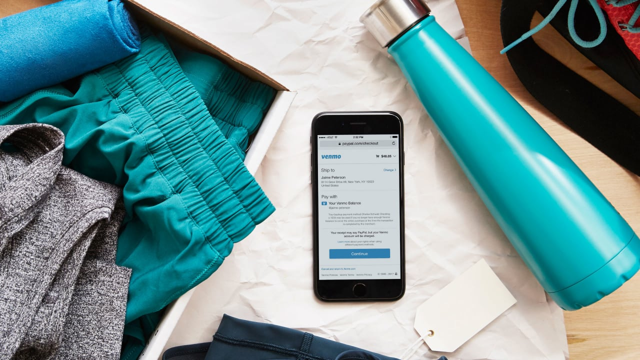 """PayPal expands """"pay with Venmo"""" to 2 million online retailers"""