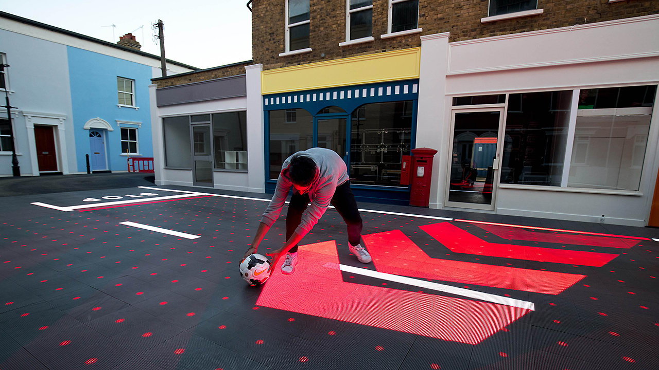The Crosswalk Of The Future Moves And Changes To