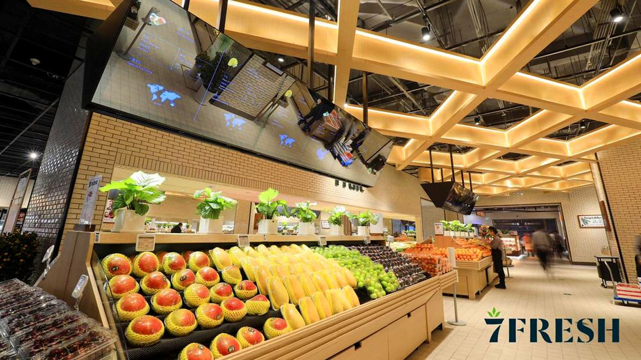 China\'s Walmart partner just opened supermarkets that the Jetsons woul