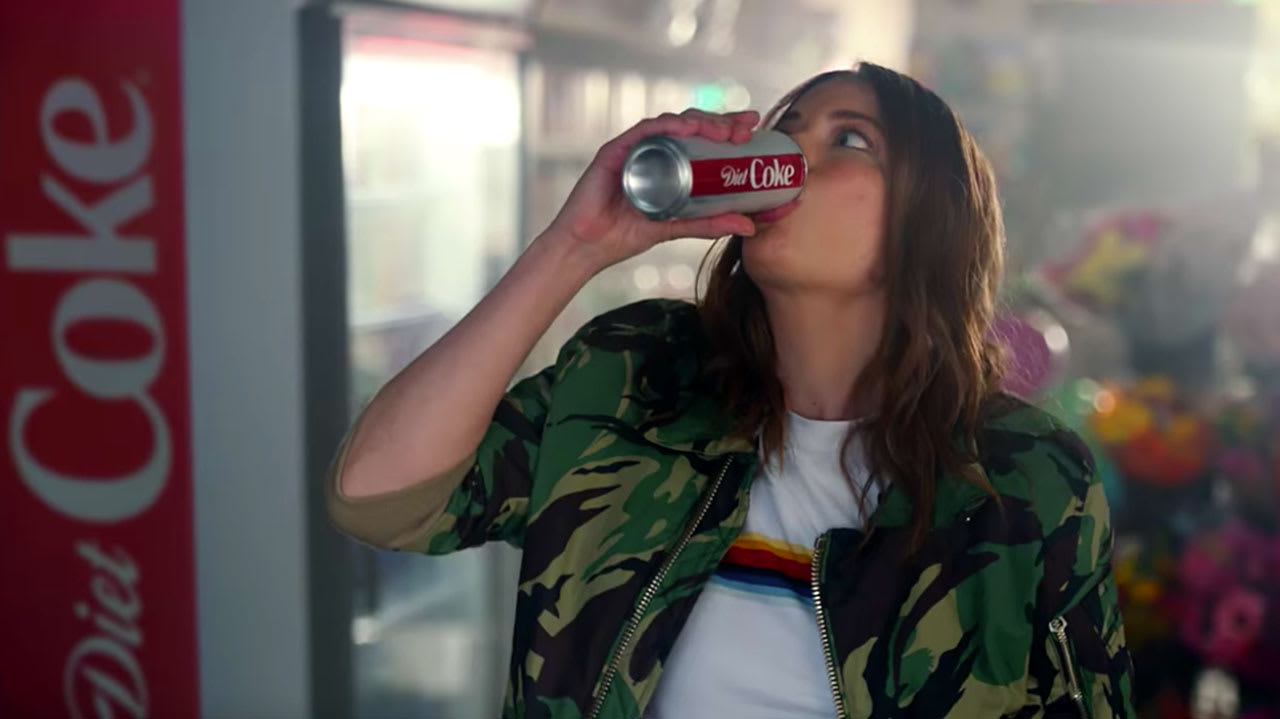 Diet Coke's New Ad Might Just Be The Laziest Commercial Of