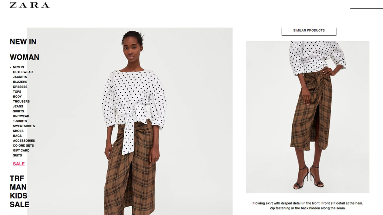 Zara just culturally appropriated my uncle's sarong and wants to charg