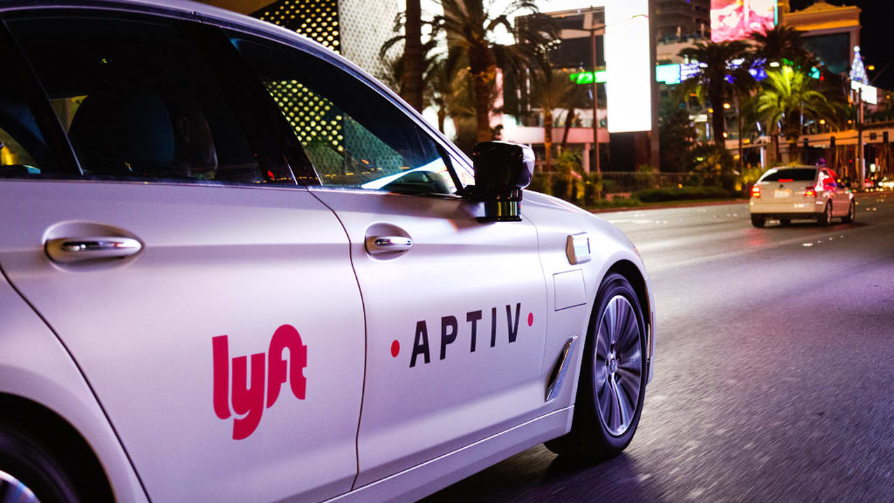 going to ces lyft and aptiv want to give you a ride in a self driving. Black Bedroom Furniture Sets. Home Design Ideas