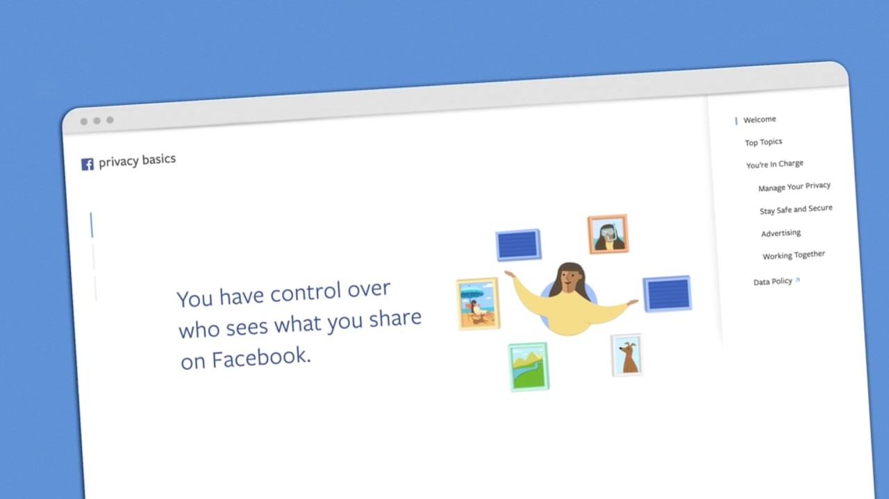 facebook managing your privacy for their