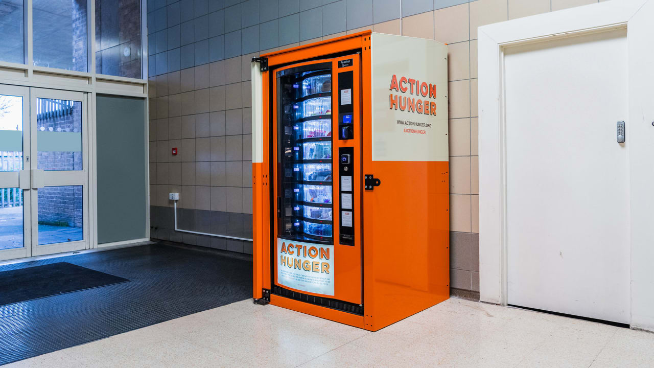 These Vending Machines Give The Homeless Free Food