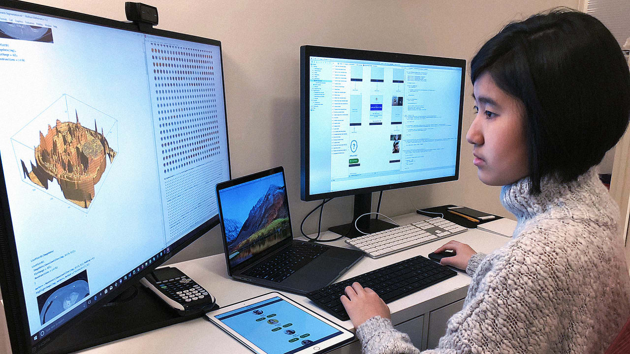 A 14-Year-Old Made An App To Help Alzheimer's Patients