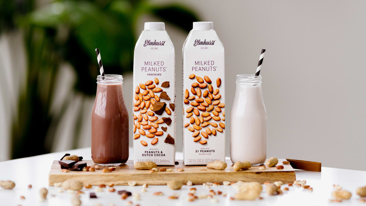 This Former Dairy Now Makes The First Commercial Peanut Milk