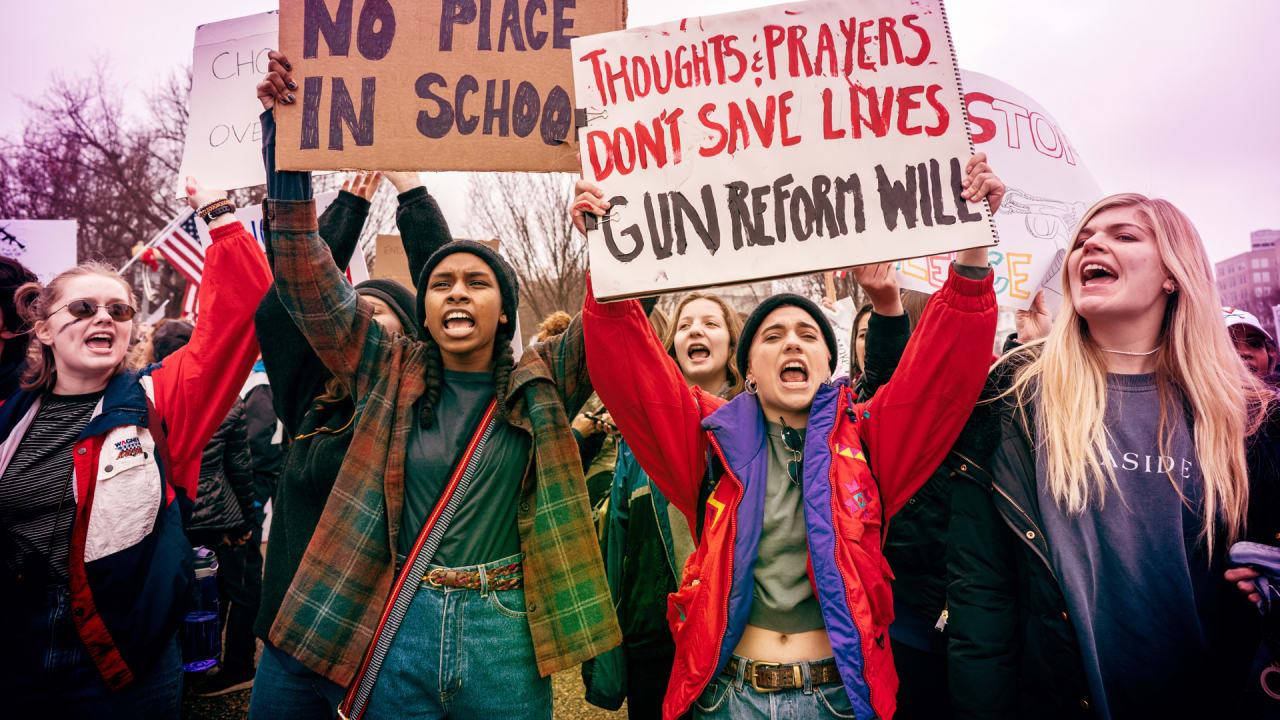 March for Our Lives anti-gun violence rallies  How and where to find one in your area