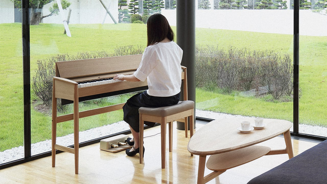 Reinventing The Piano As A Piece Of Modern Furniture