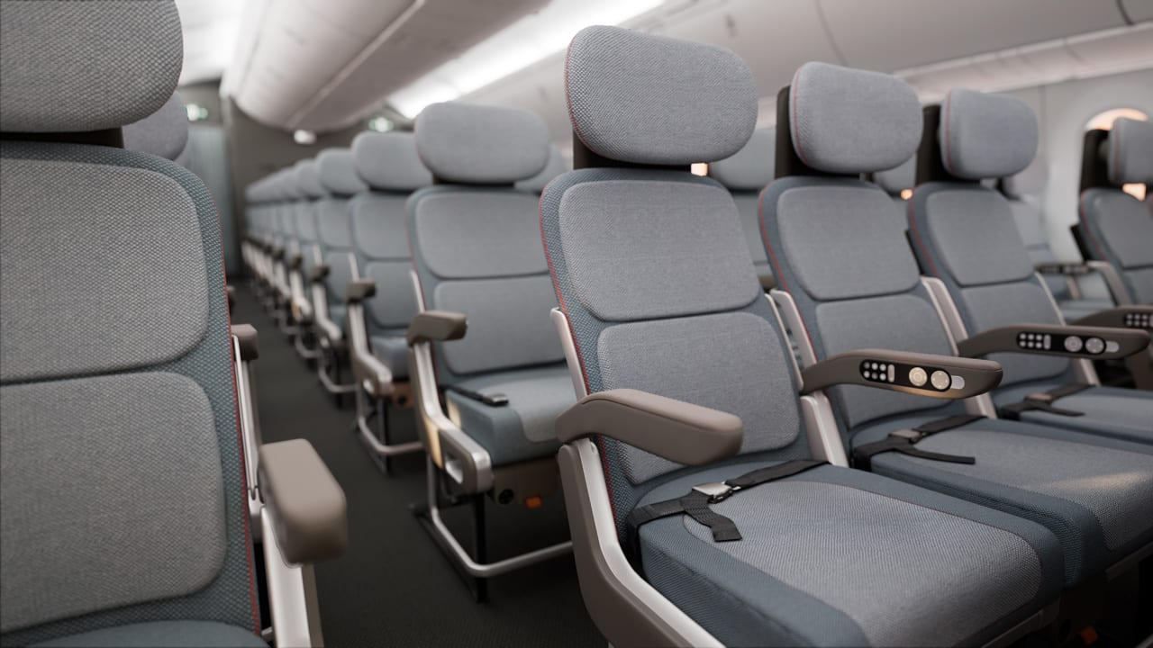Excellent The Miserable Economy Airline Seat Got A Major Redesign Pdpeps Interior Chair Design Pdpepsorg