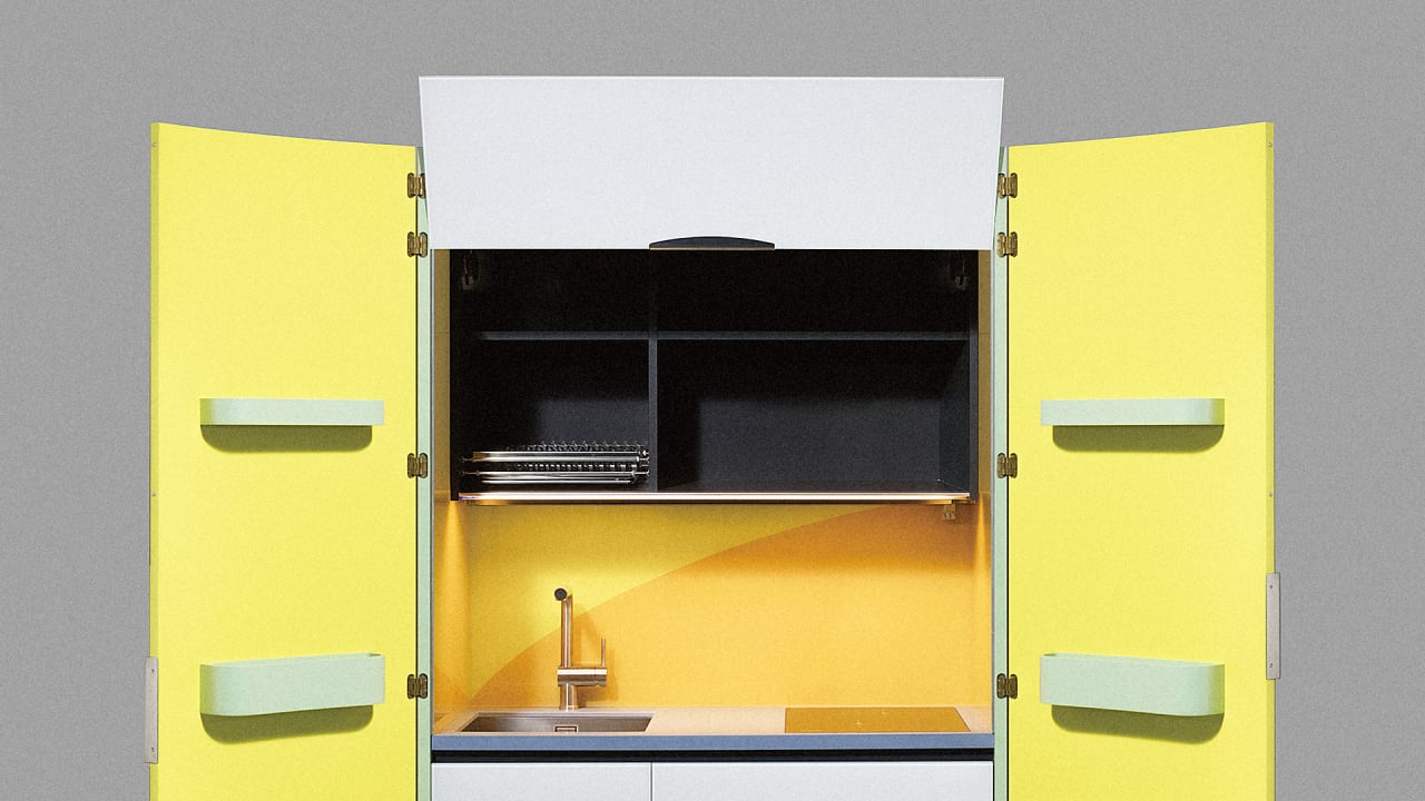These Japanese Micro Kitchens Make Me Want A Tiny Home