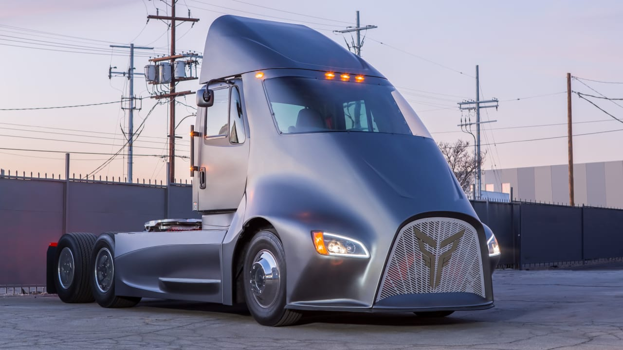 These Electric Semis Hope To Clean Up The Trucking Industry