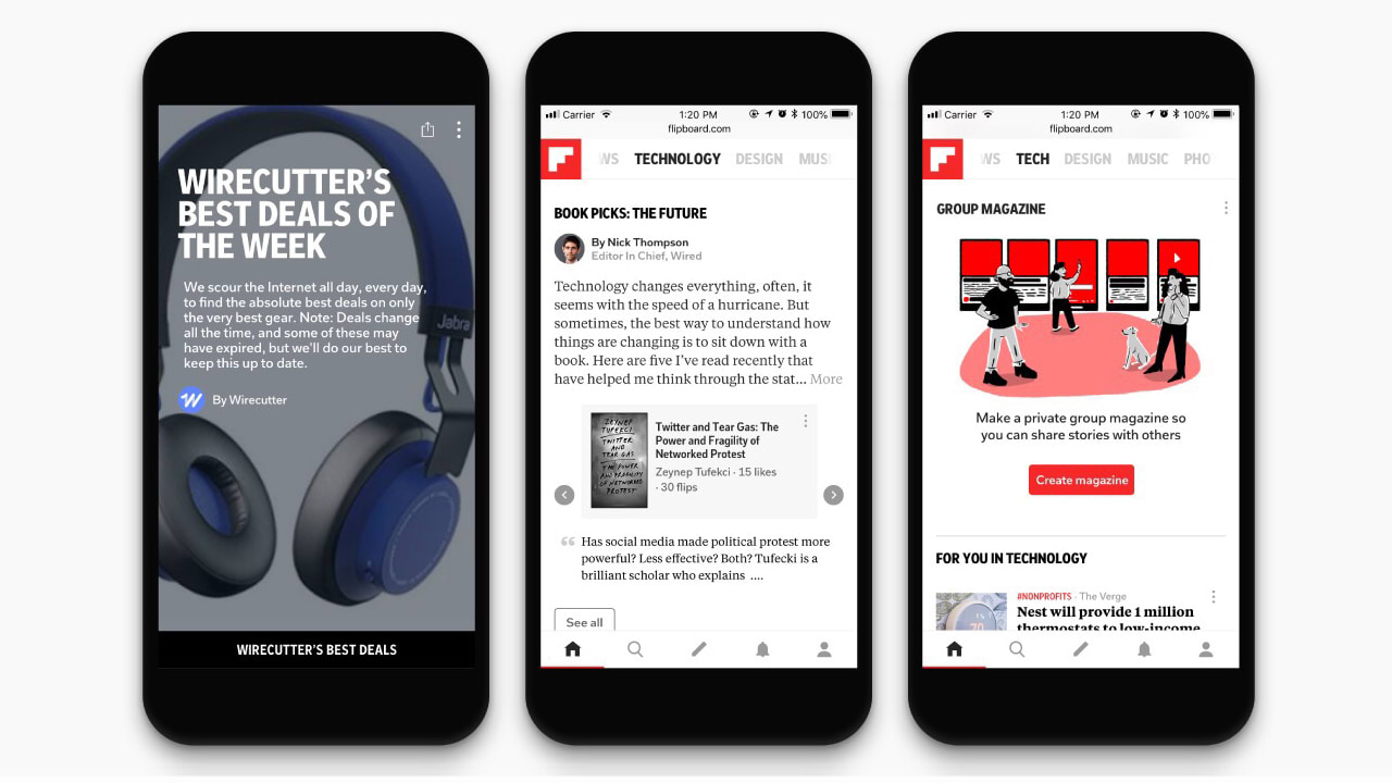 Flipboard Wants To Be The Go-To News Source For Tech Mavens