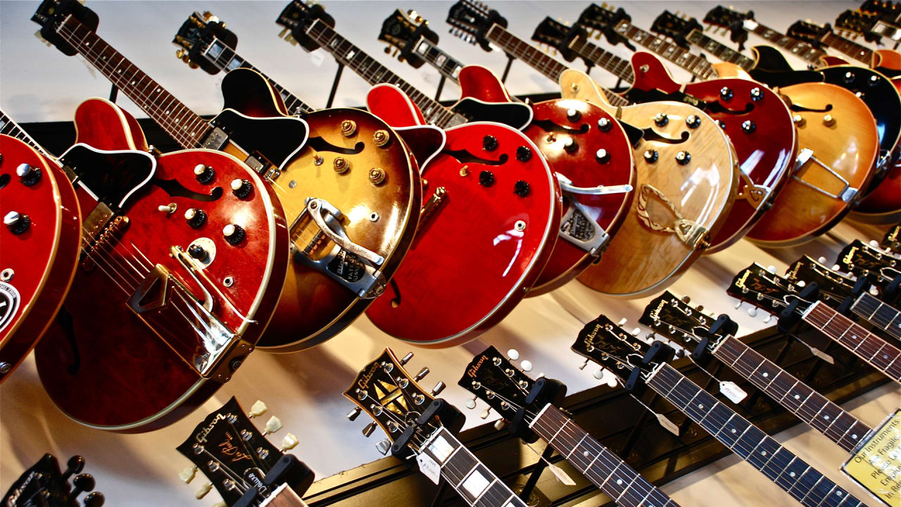 Here's why Gibson is bankrupt—no, it's not because rock is dead