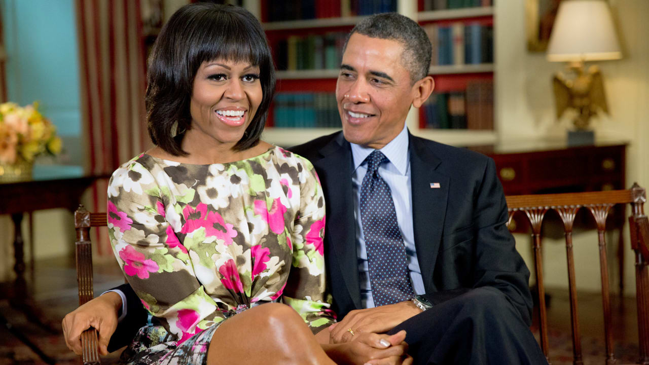 Barack and Michelle Obama are officially in business with