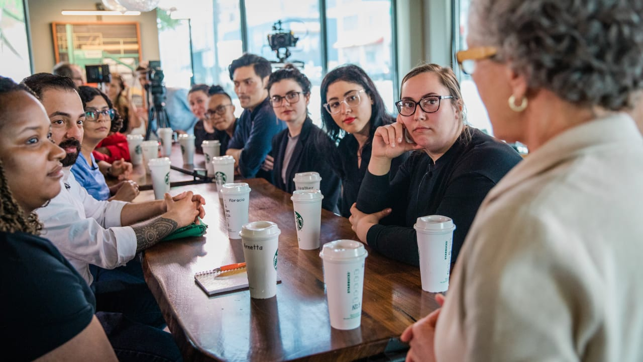 What Starbucks anti-bias training day was like, according to employees