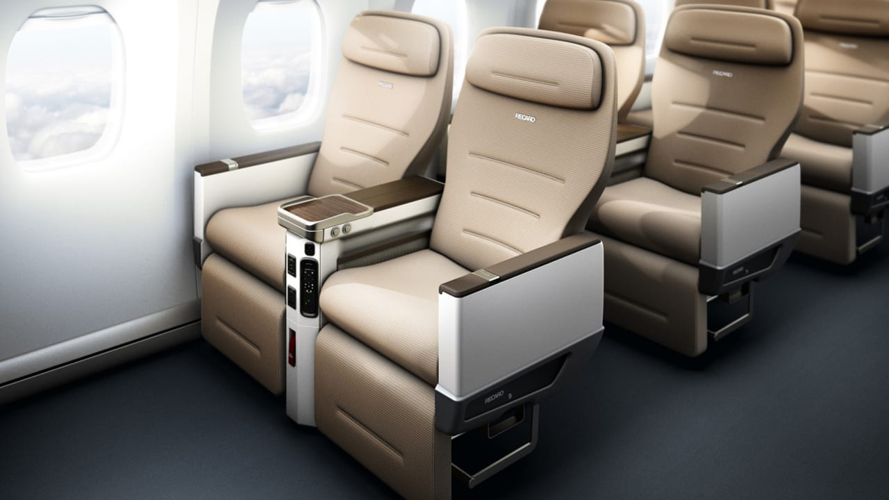 Self-cleaning airplane seats are coming (but only for ...