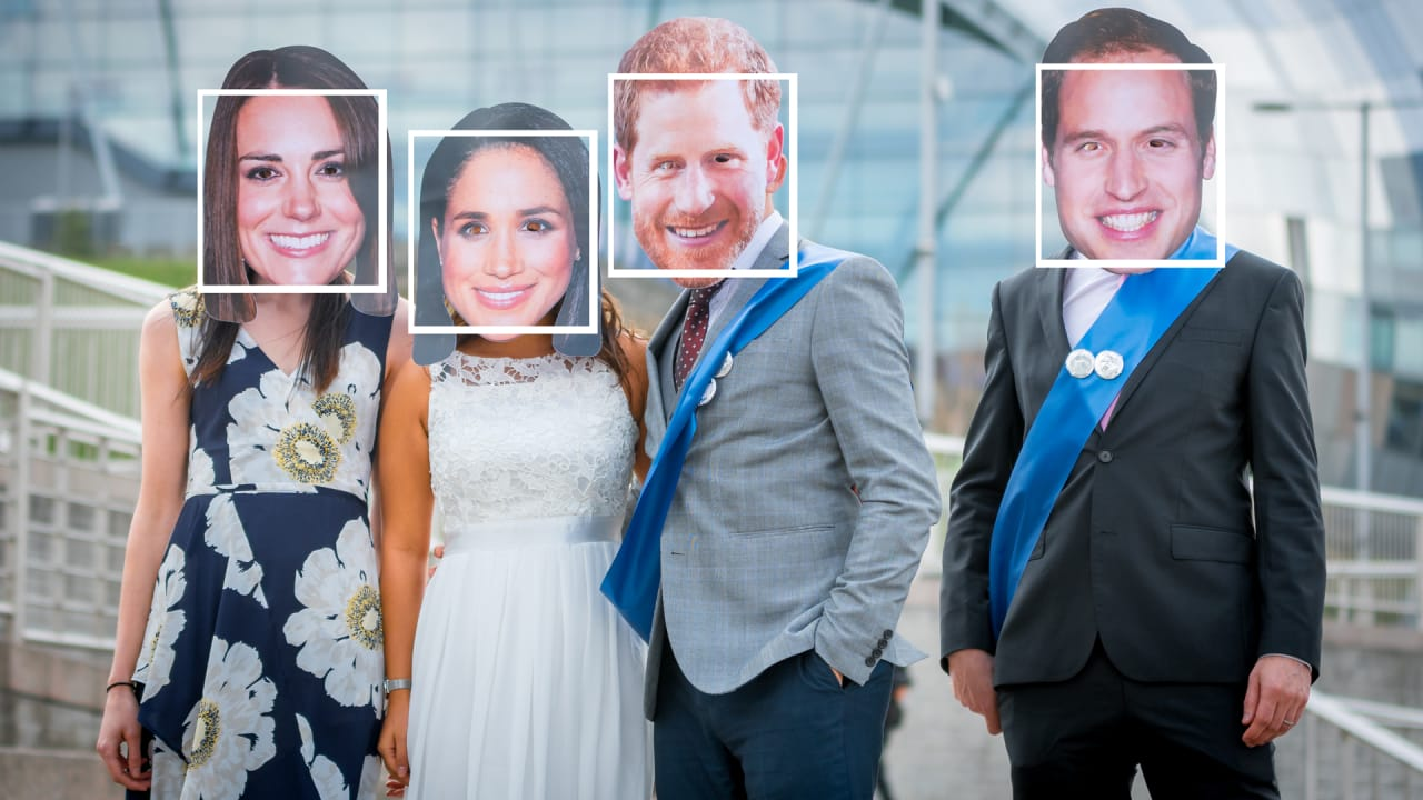 This Royal Wedding AI is a Reverse Image Search for Rich People