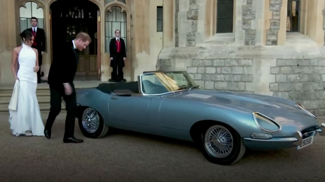 why the electric jaguar at the royal wedding was a symbolic step forwa