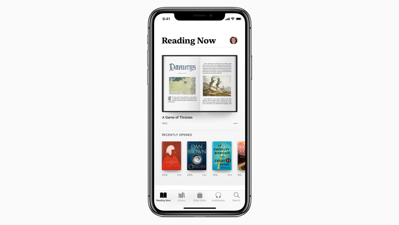 Apple Books is coming for Audible with its iOS 12 update