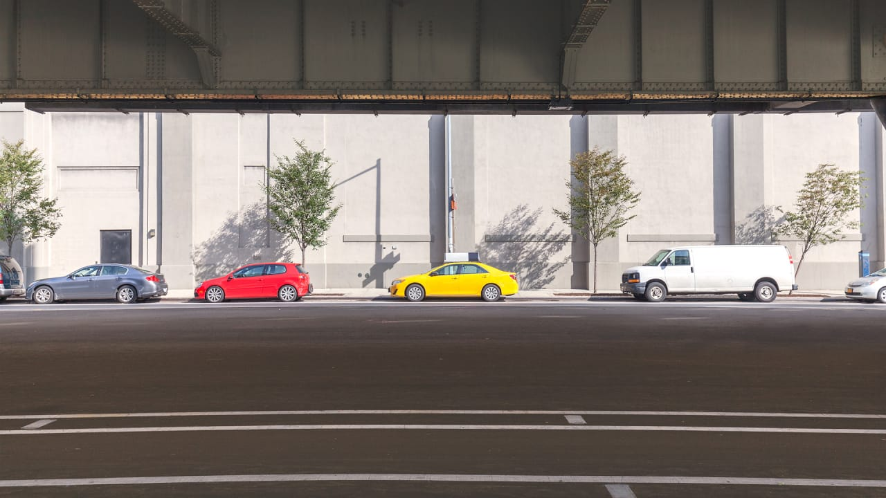 What if your car knew where the closest parking spot was?