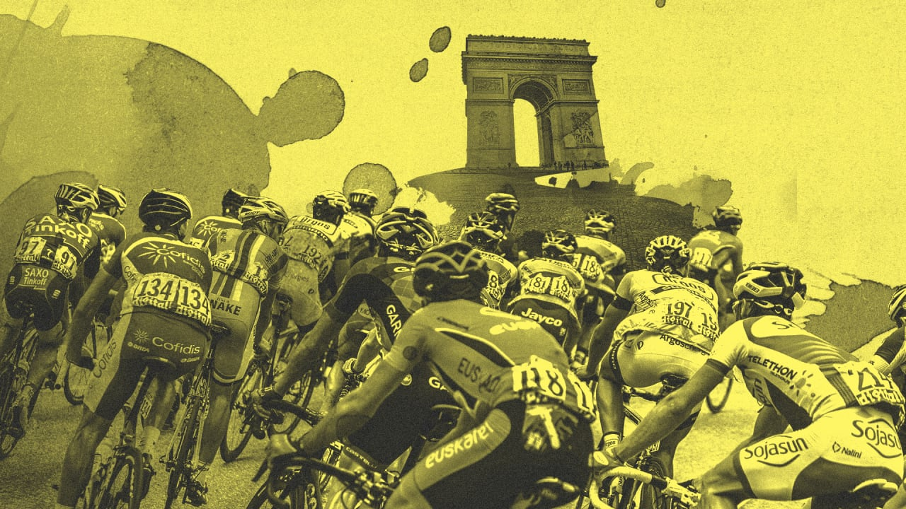 How to win the Tour de France, in one image
