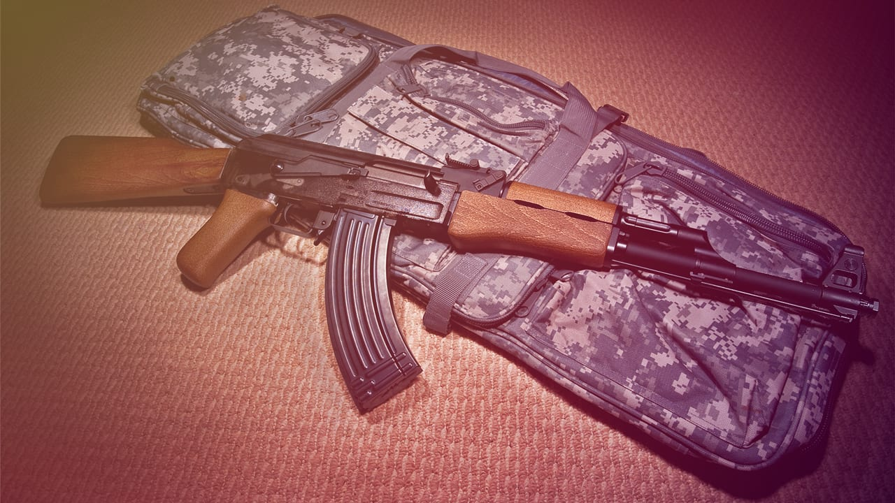 "A Chinese company is making a ""laser AK-47"" blaster rifle"