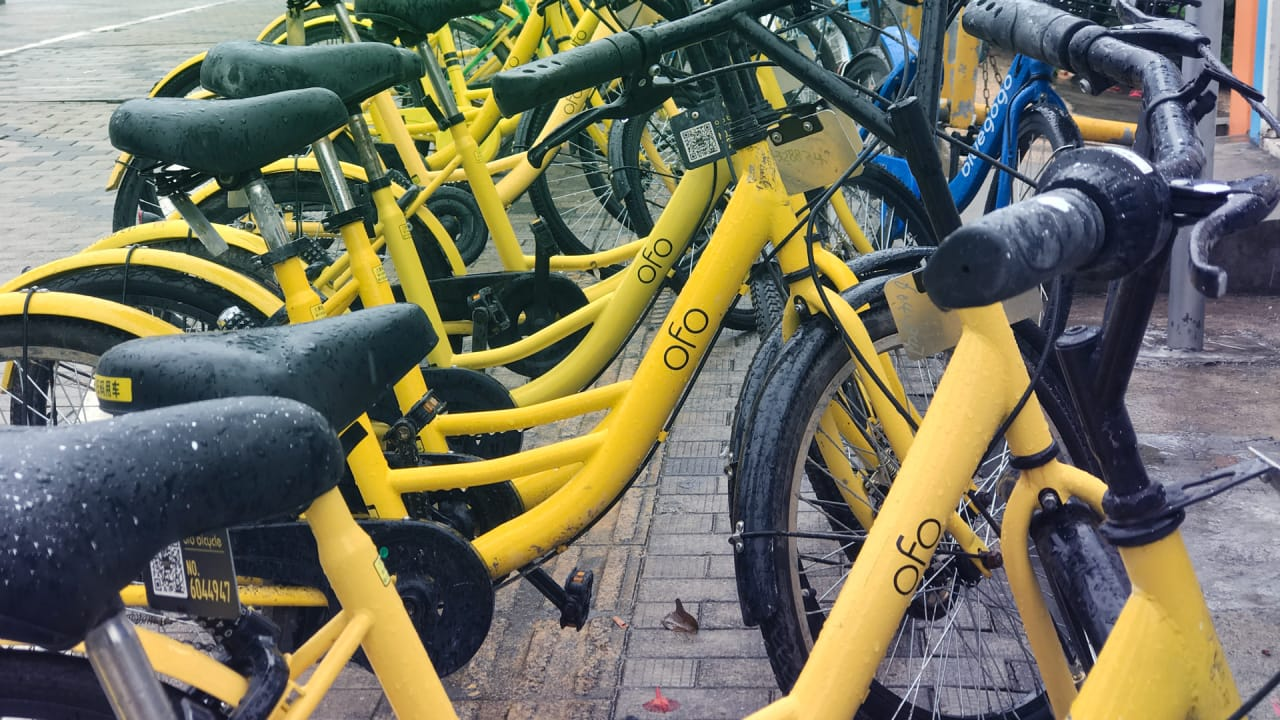 Chinese bikeshare company Ofo is laying off most of its U.S. staff