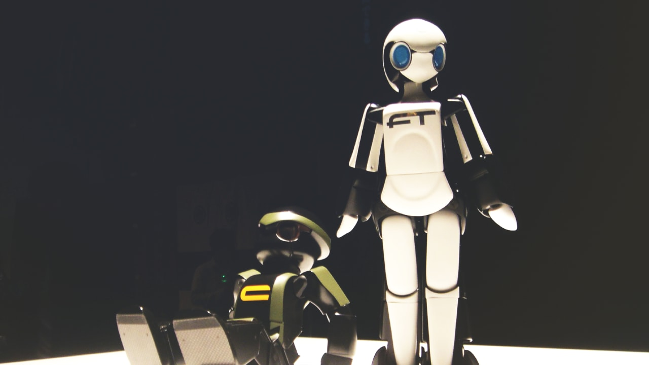 even black robots are impacted by racism
