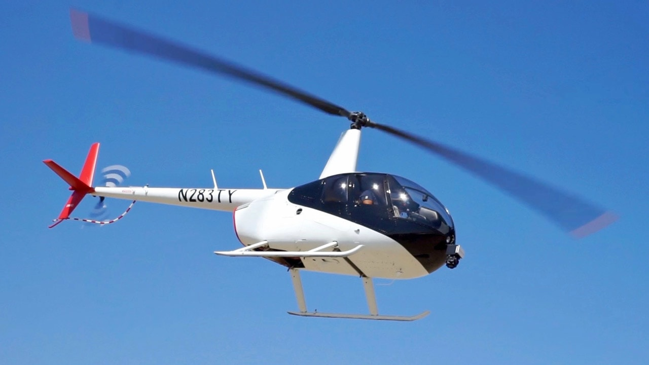 This high-tech 911 helicopter could be the next step to flying cars